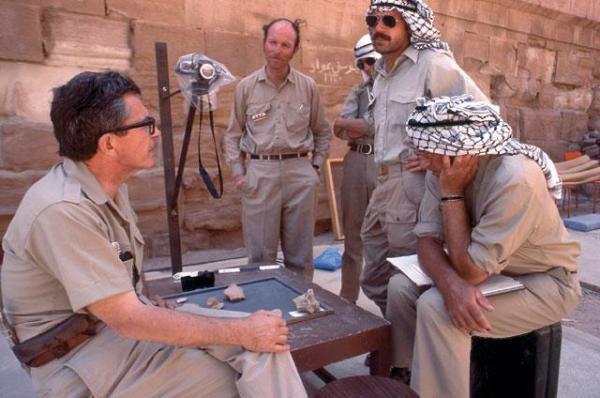 Veteran archaeologist Hammond's Role in Unraveling Petra's Past Remembered