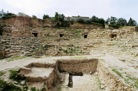 roman theater at bet ras