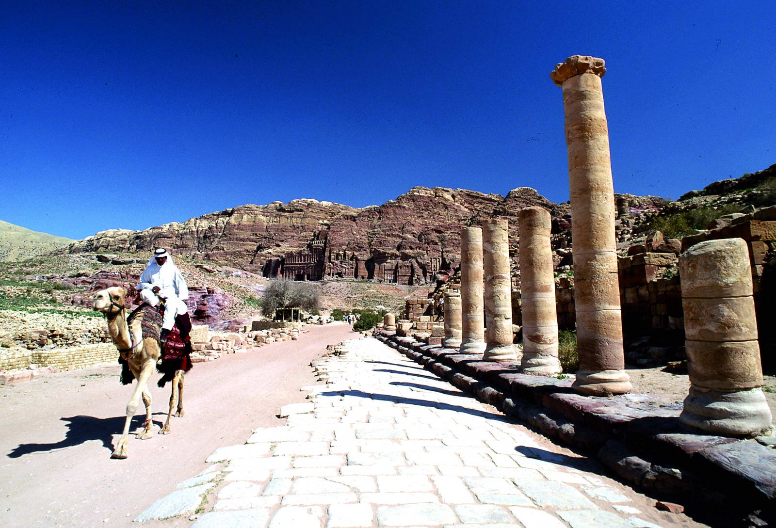 Jordan Petra Colonnaded Street