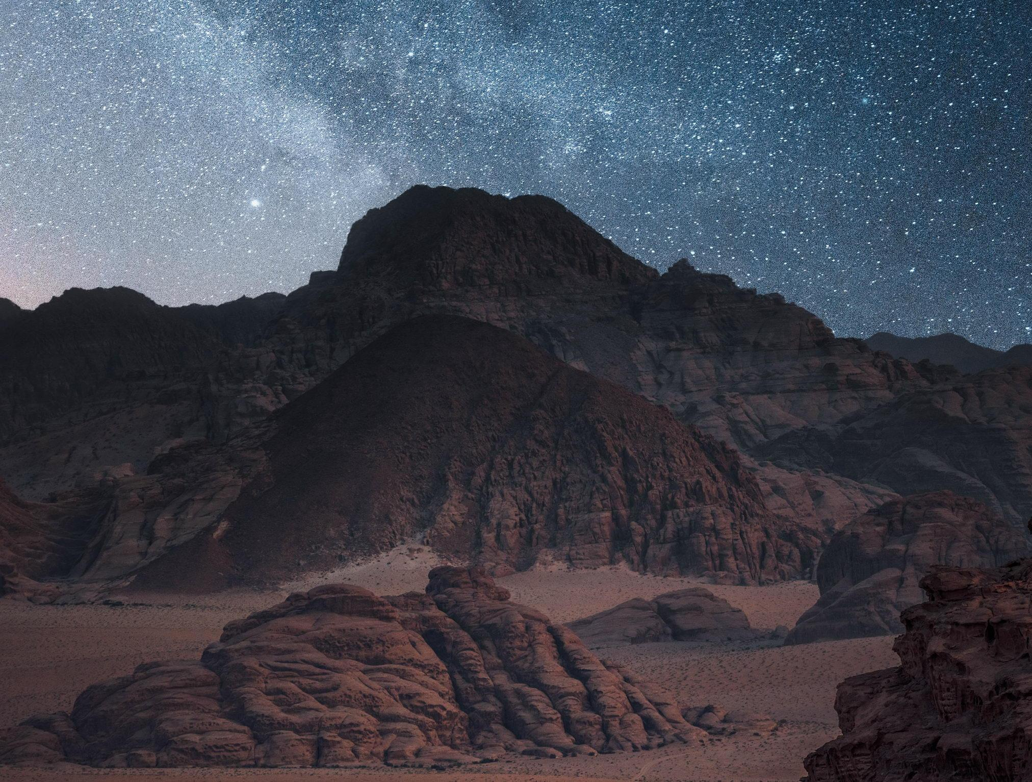 Wadi Rum Night Sky JPTT