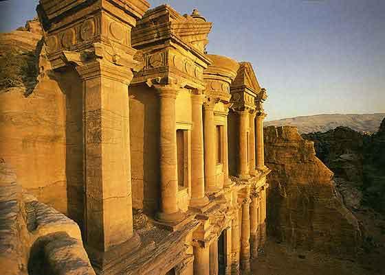 Petra al deir Monastery
